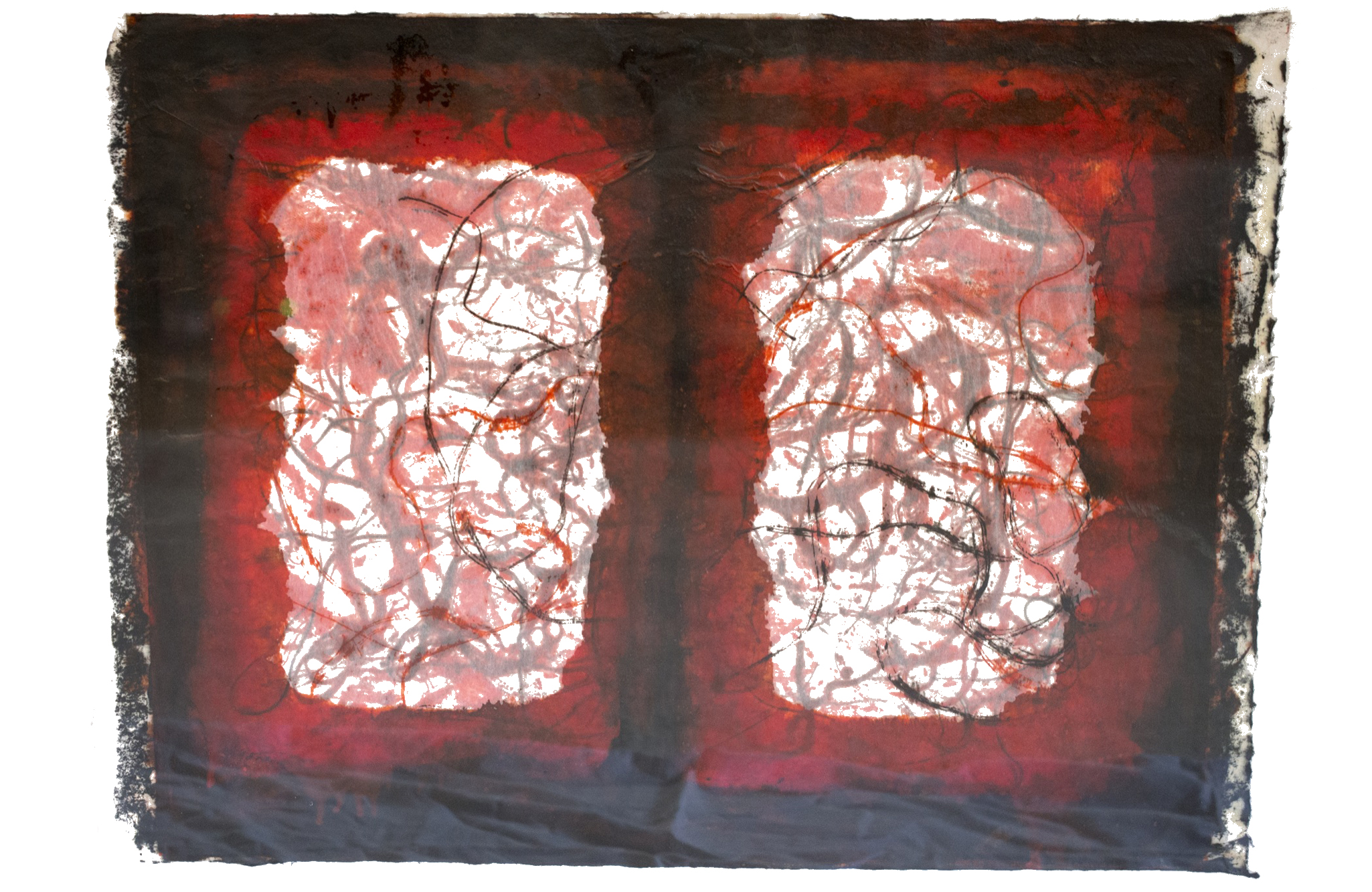Red Print No. 3