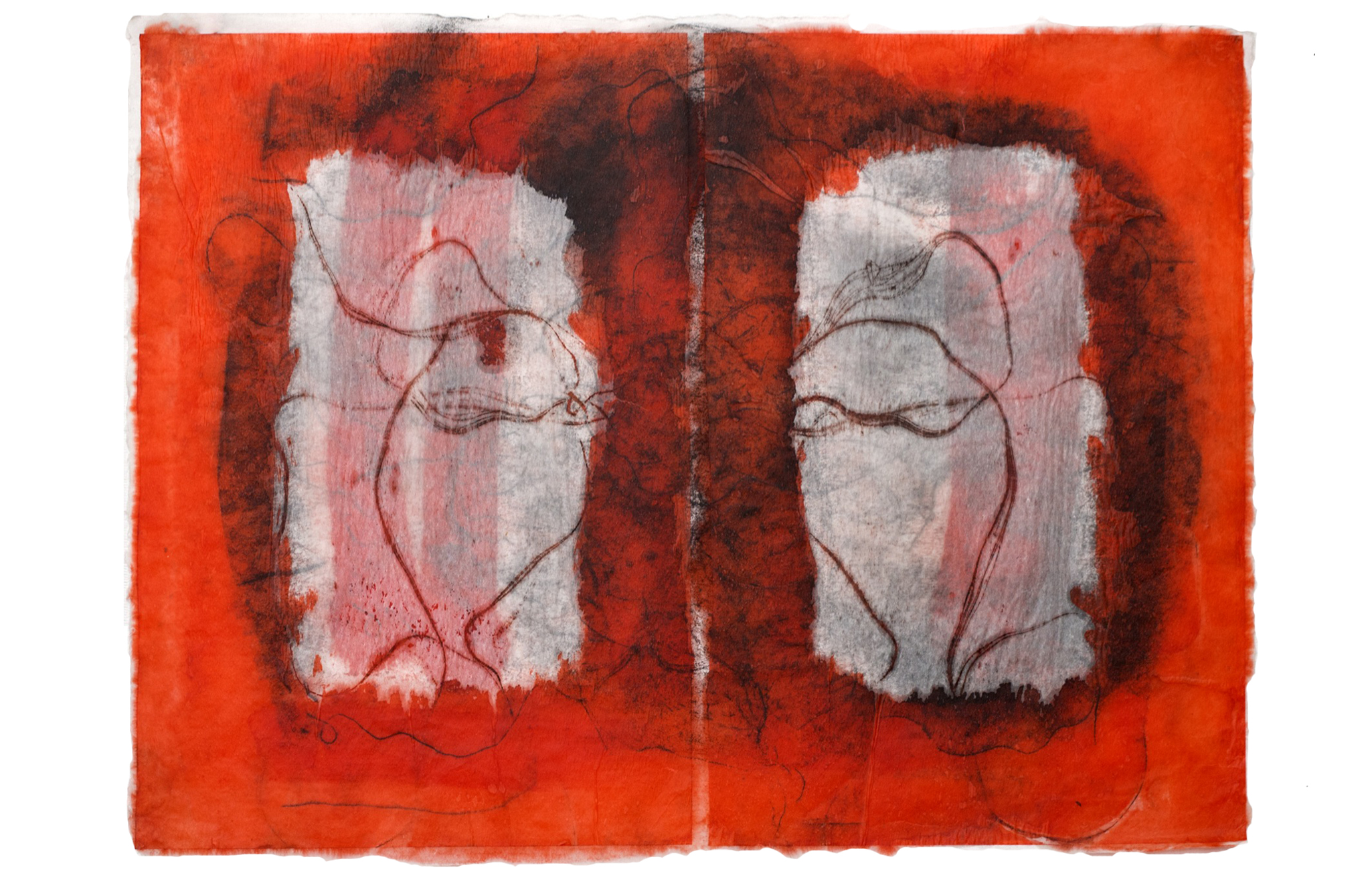 Red Print No. 6