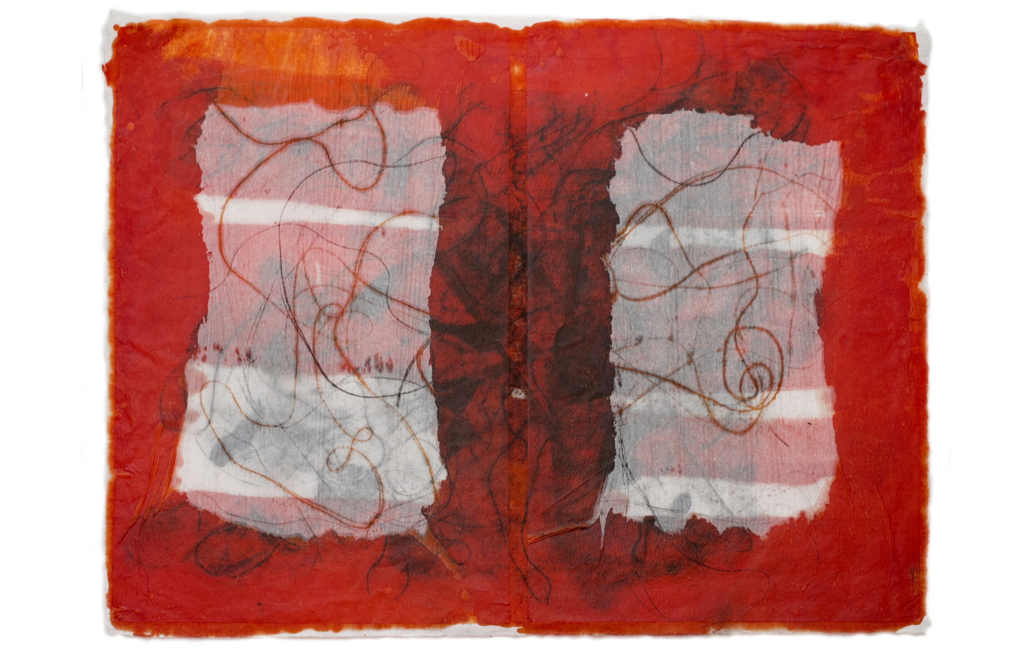 Red Print No. 4