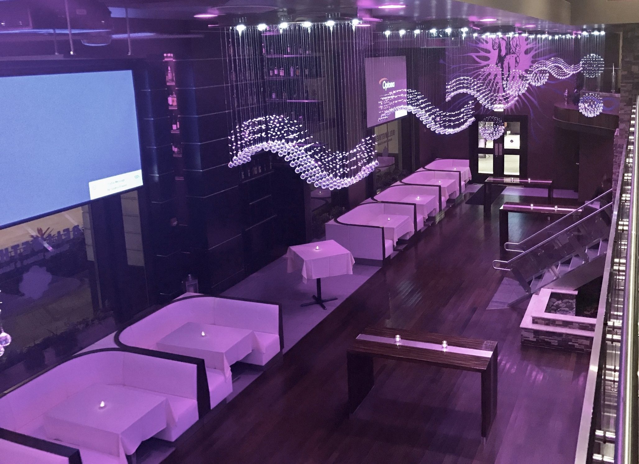Main dining room event space at Bellwether Chicago