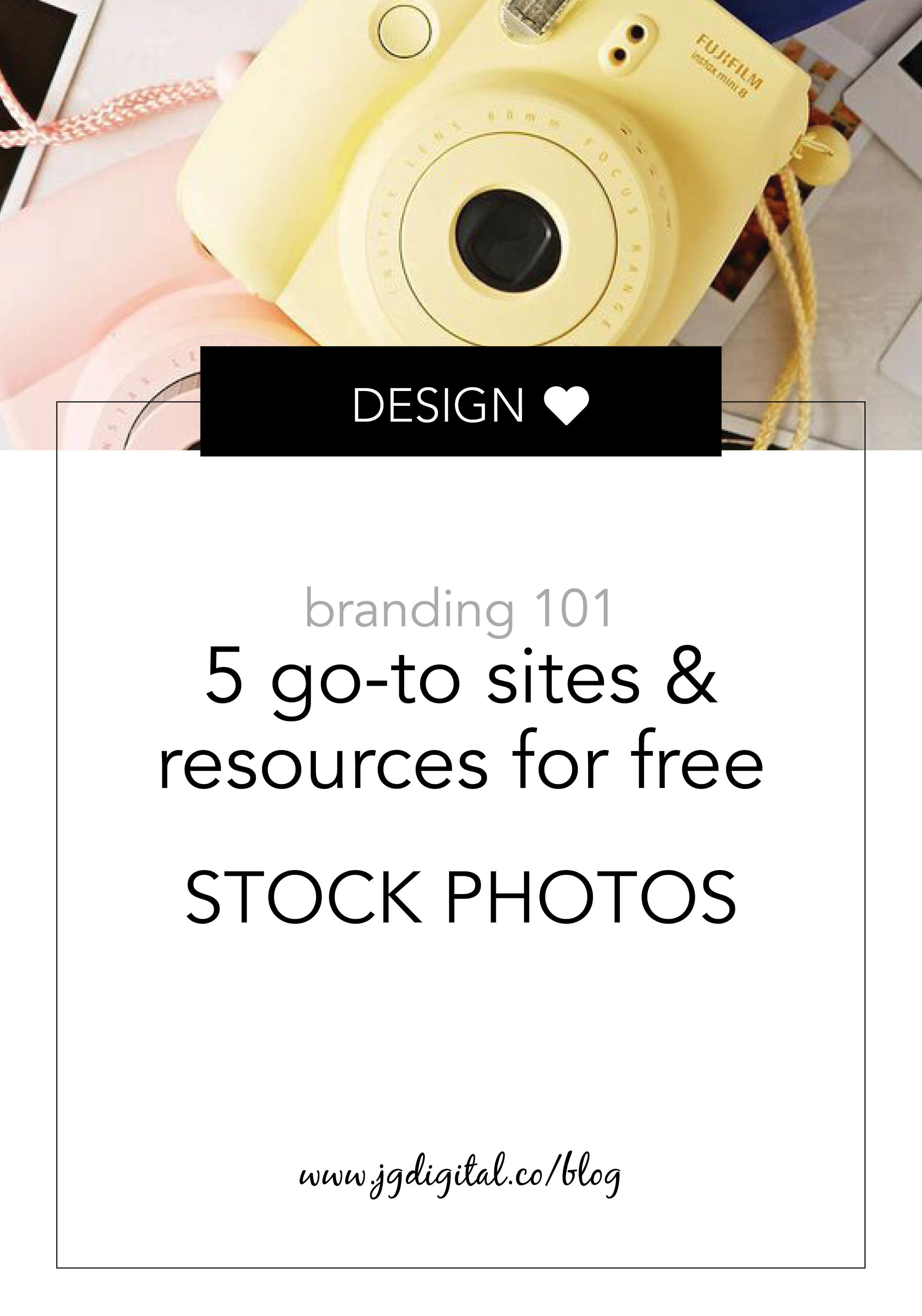 5 Go-To Sites & Resources for FREE & Unique Stock Photos by jgdigital.co
