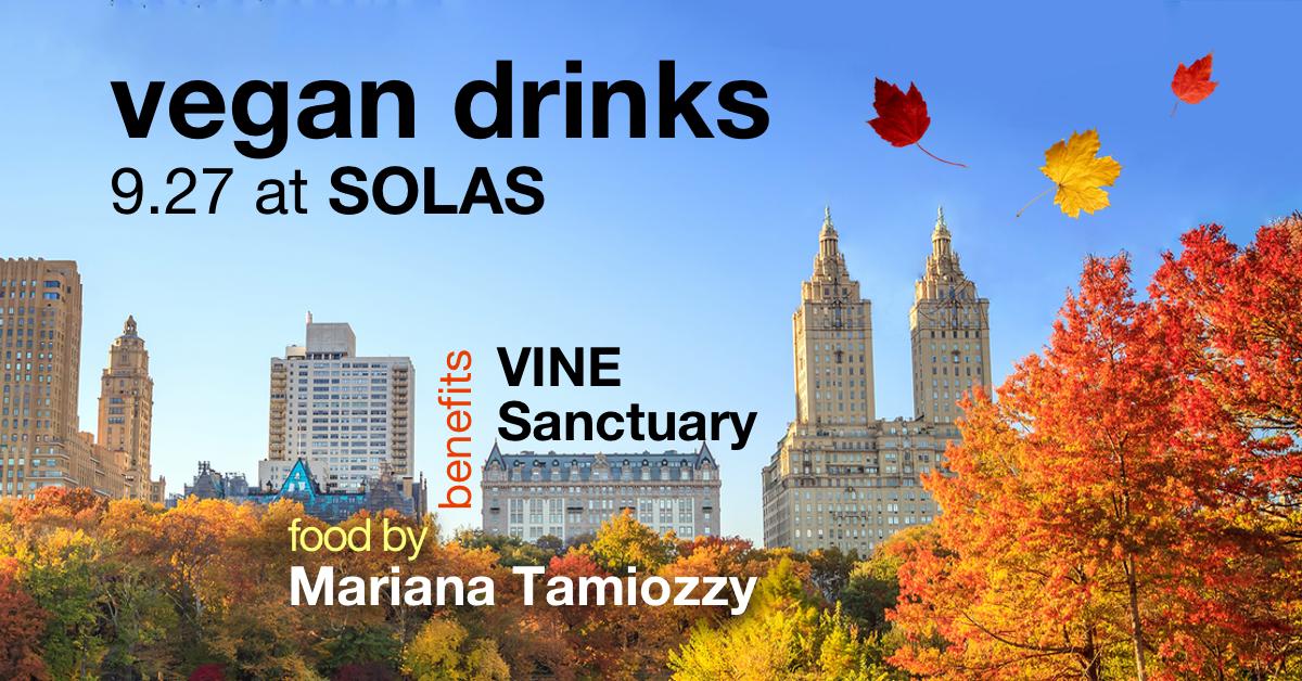9.27.18 - Beneficiary: VINE SanctuaryFood Vendor: Chef Mariana Tamiozzy