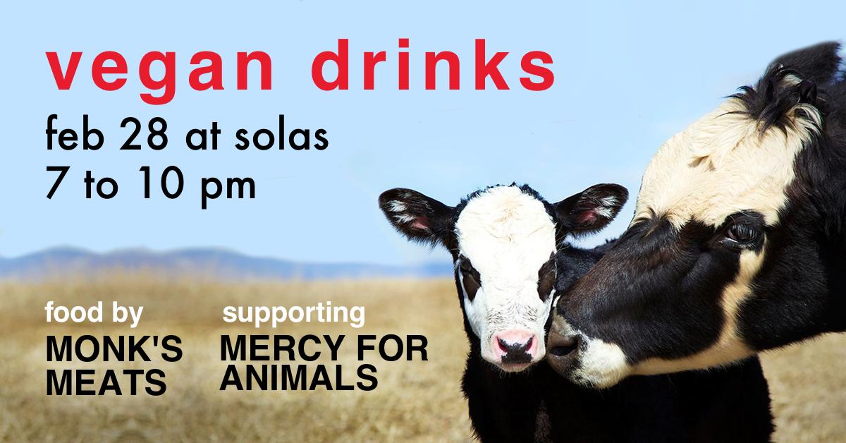2.28.19 - Beneficiary: Mercy for AnimalsFood Vendor: Monk's Meats