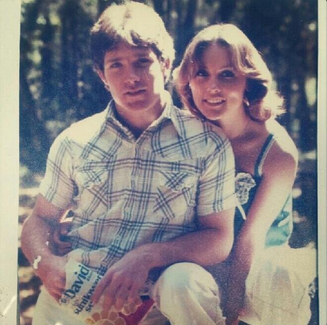 My parents' original engagement photo
