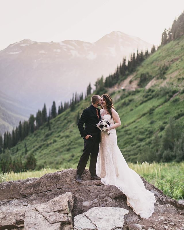 Just got this beautiful gallery delivered!  Taylor & Vince's beautiful day ended up at the location of their dreams!  With their original date plan, the access to this spot was scheduled to be closed.  With an amazing change of circumstances- they were able to change their date and magic happened not only for this amazing spot to be accessed, but also literally magic happened behind them.  Like colors of the rainbow the sun shone on these two!  Now back to my editing cave to work on more galleries, and thank you 🙏 to all of my wonderful, amazing clients for gracefully and patiently waiting... it'll be soo worth it! ♥️♥️♥️ 2019 has been absolutely incredible!!      #jennifermooneyweddings #jennifermooneyphoto #brideandgroom #thatsdarling #montanaelopement #elopement #montanaweddingphotographer #weddingphotographer #glacierparkweddingphotography #glacierparklovestories #glaciernationalpark #montanawedding #rockymountainbride  #whitefishmontana #glacierpark #elegantbride #montana  #radlove #montanabride #theknot #greenweddingshoes #dreamwedding #mountainwedding #romanticwedding #destinationwedding #adventurouswedding #bride #glacierparkwedding