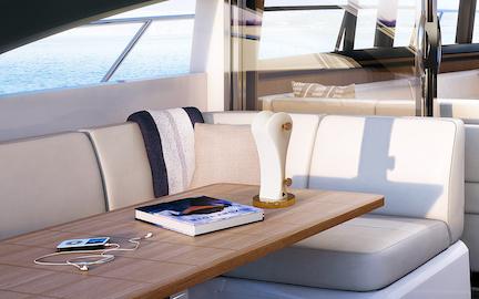 Gemini in Yacht