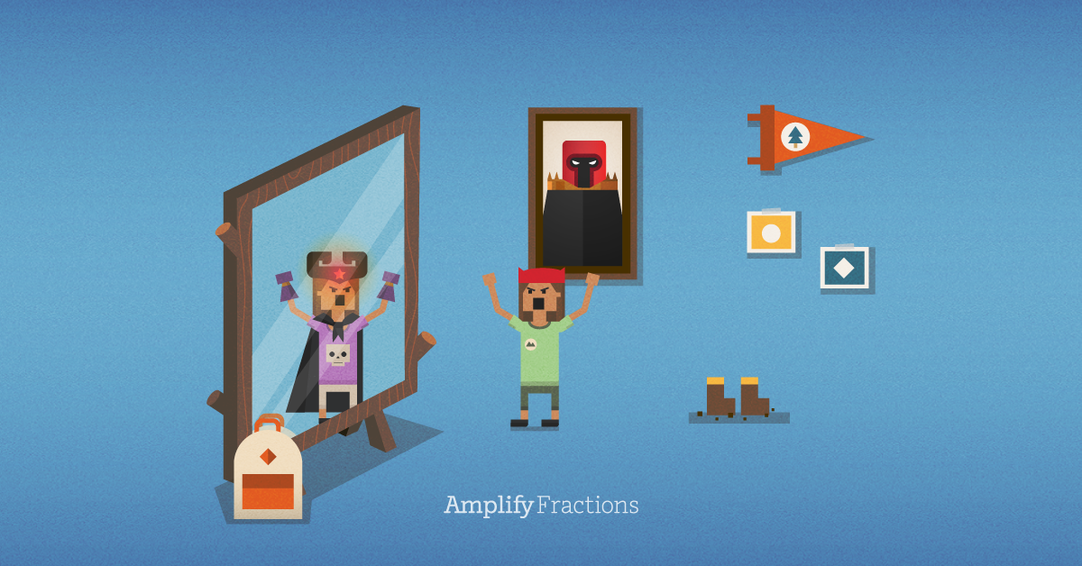 Achieve fraction success with @Amplify Fractions! (Just be sure to use your new powers wisely…)