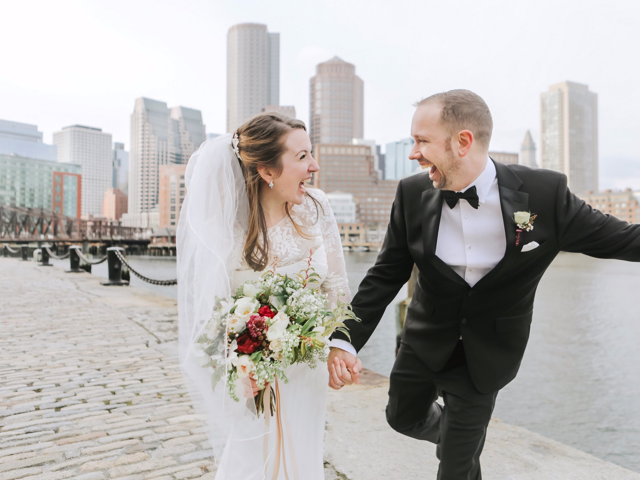 Boston City Hall Wedding Seaport