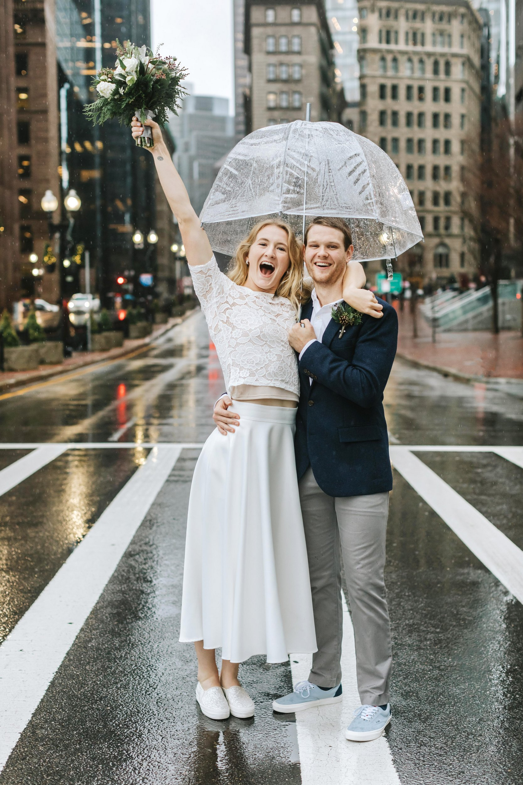 Boston City Hall Wedding