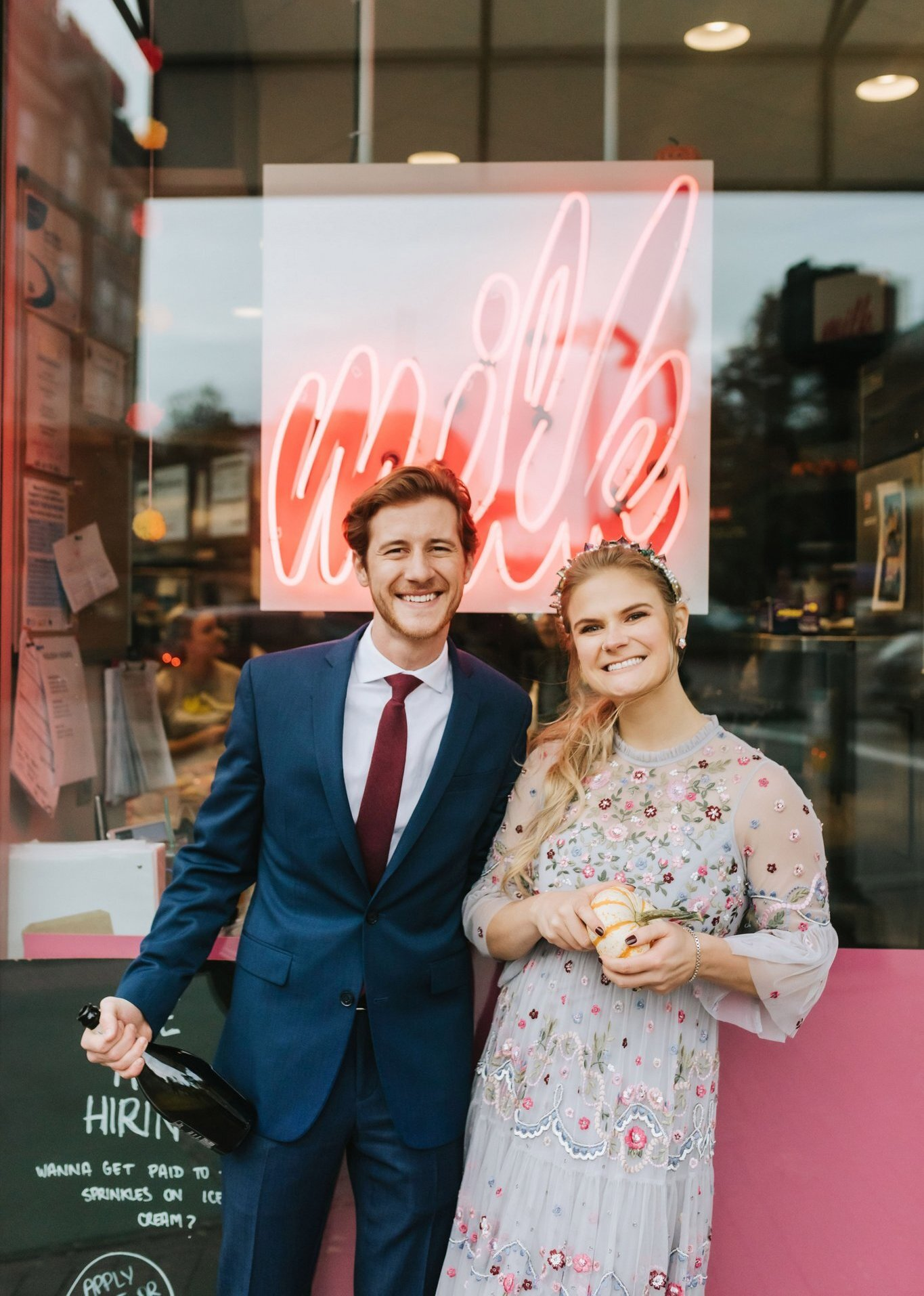 Milk Bar Wedding - Harvard Square