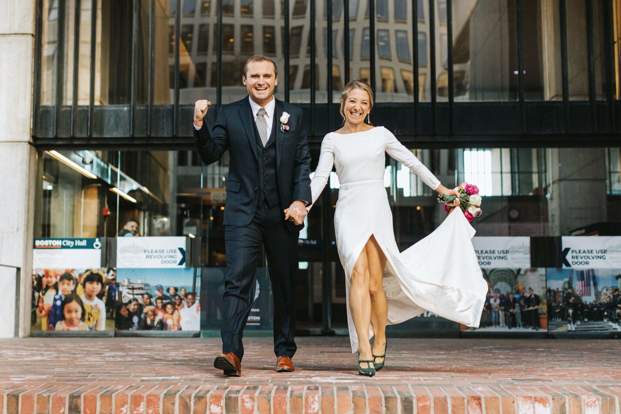 Boston S Favorite City Hall Wedding Photographer