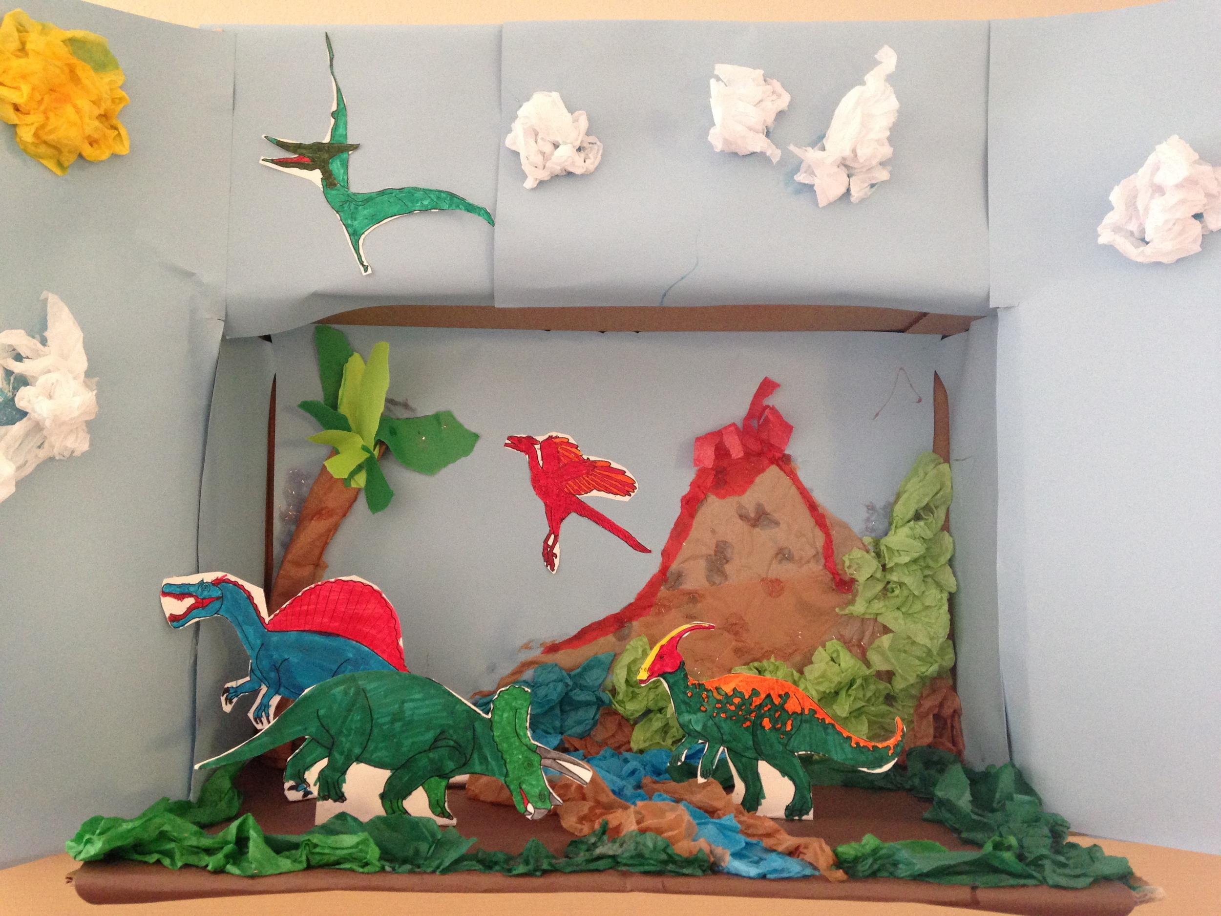 Dylan's diorama.