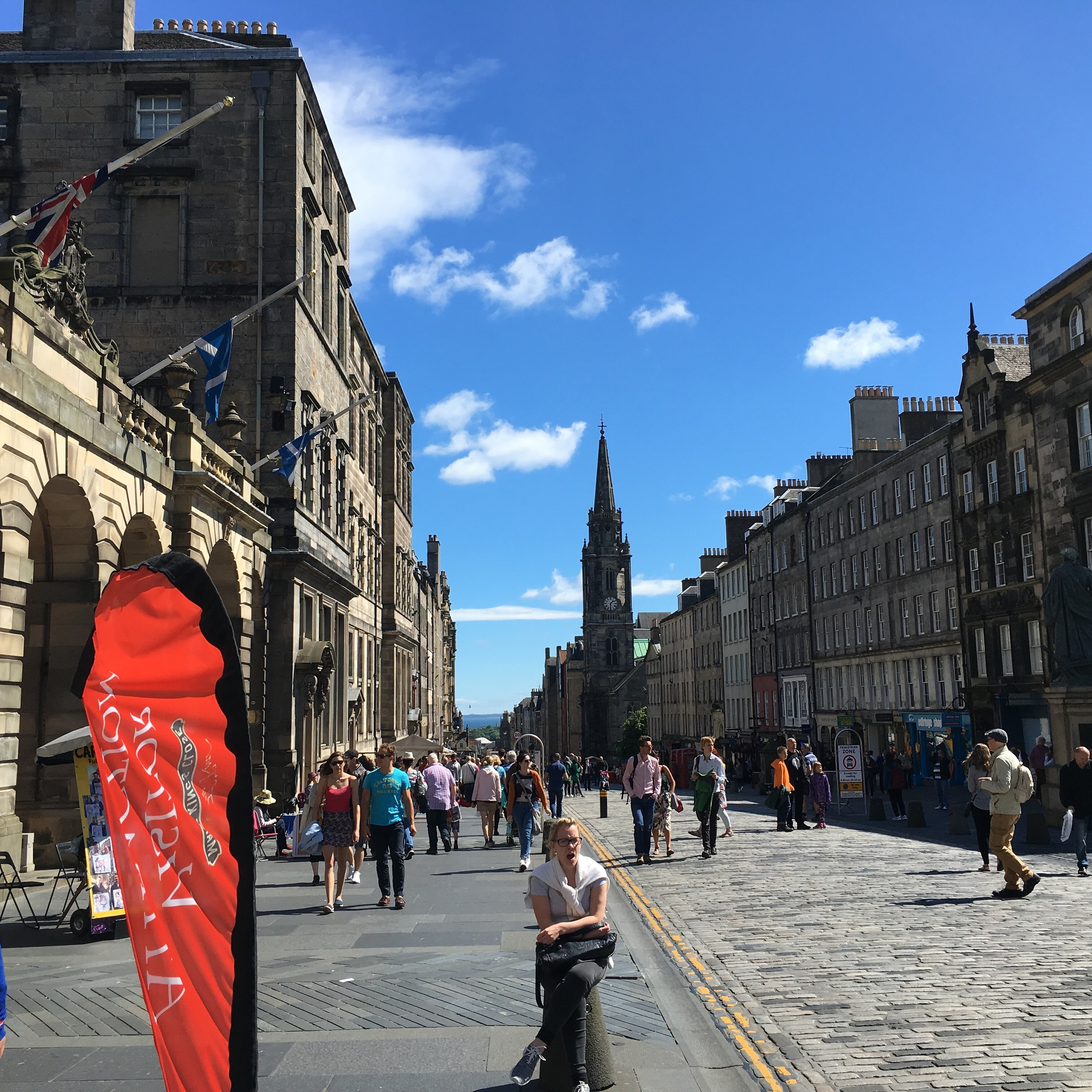 View Down the Royal Mile