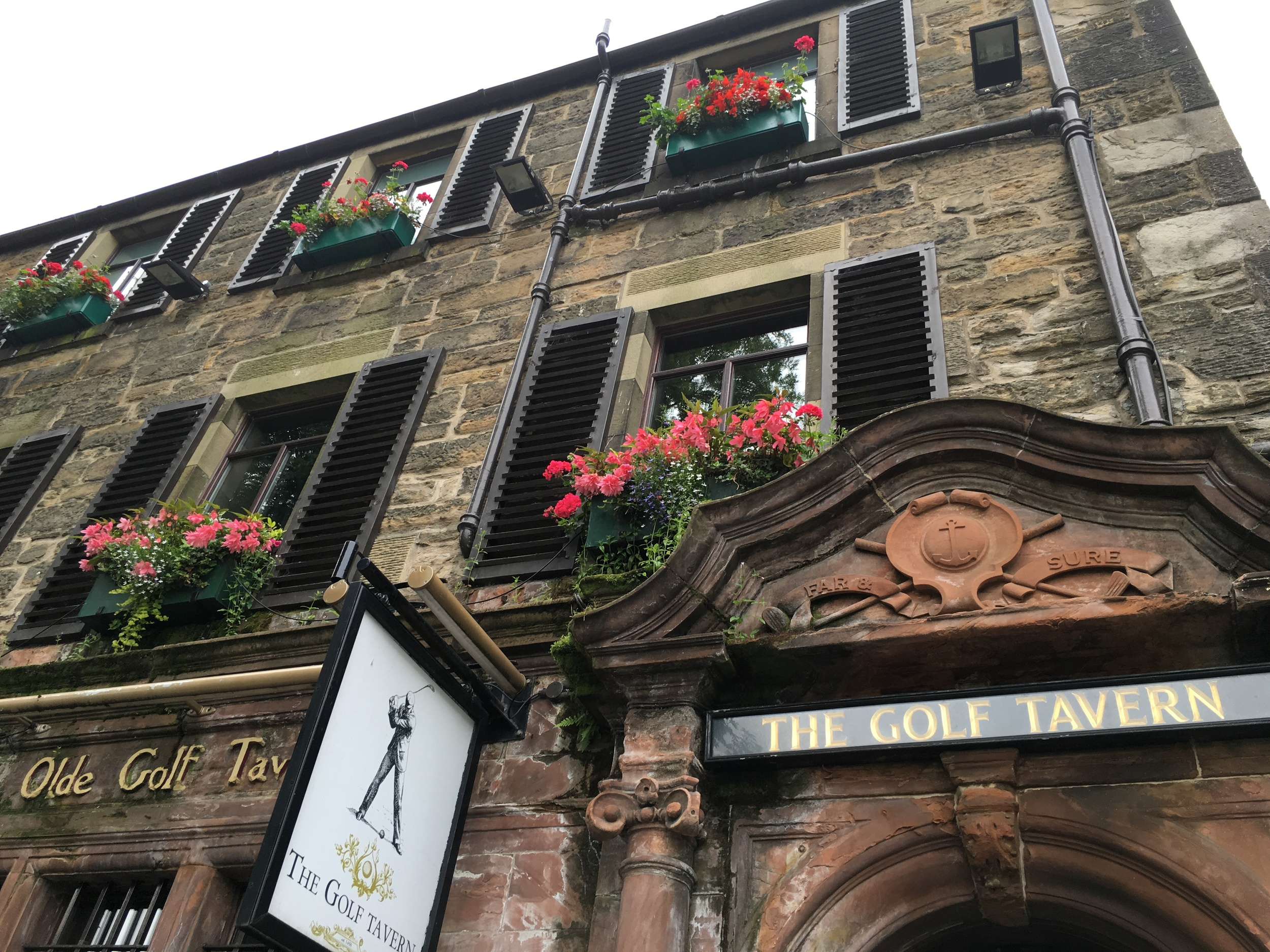 Pub at Bruntsfield Links est. 1456