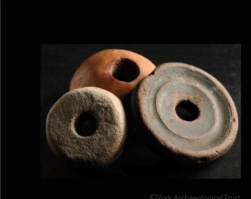 Viking Spindle Whorls
