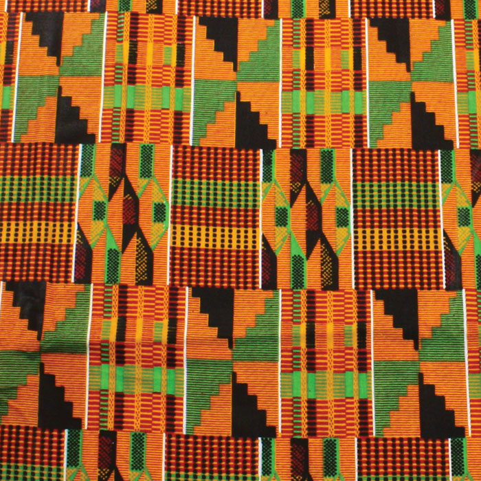 Kente cloth.