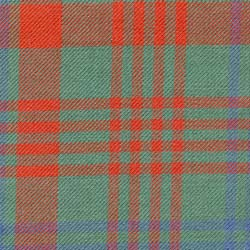 Hunting tartan, reproduction to resemble ancient tartans.
