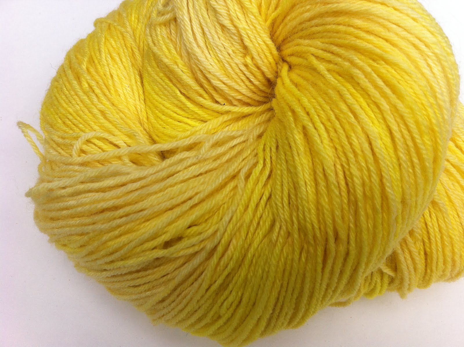Calendula and Weld both yield a bright sunny yellow with an alum mordant.  I have also top dyed this beautiful color with indigo to get a fabulous yarn with greens, blues, and purples.