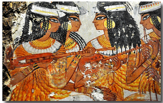 Murals from the tomb of Nebamun, British Museum, London