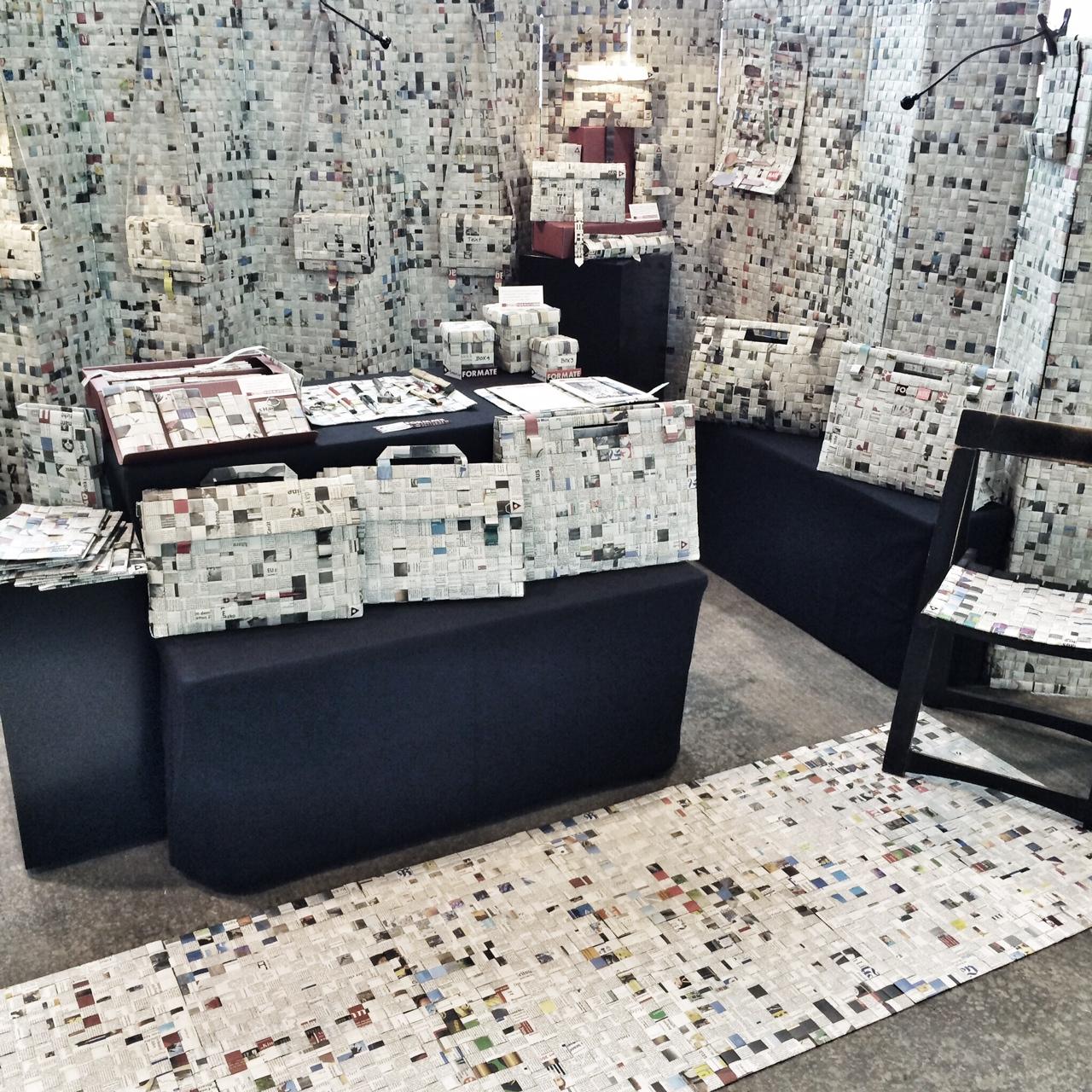 'transFORMATE' - Recyclingdesign   Luzia M. Gossmann