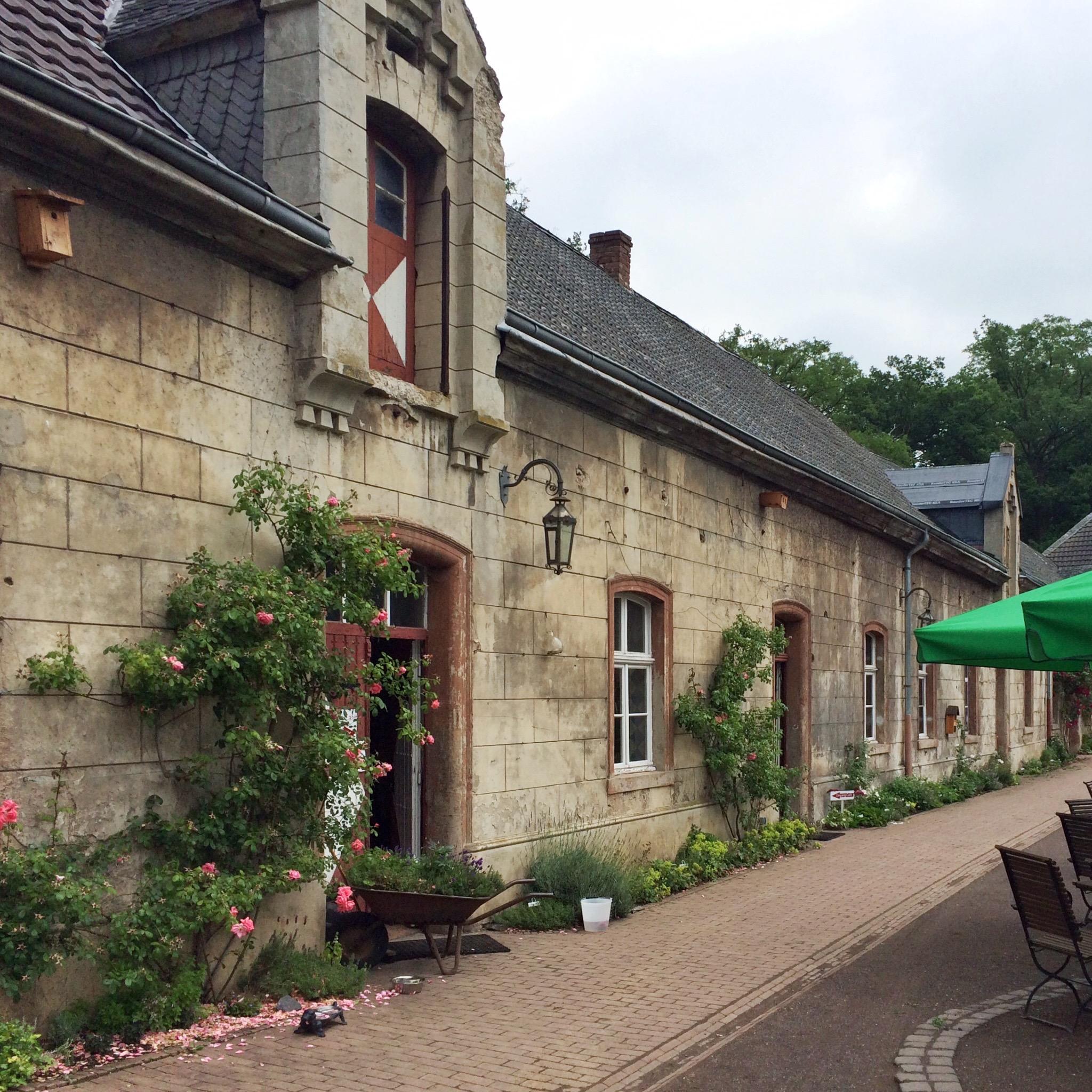 Café Schloss Türnich, Schlosstraße, Schloss Türnich in Türnich/ Kerpen.
