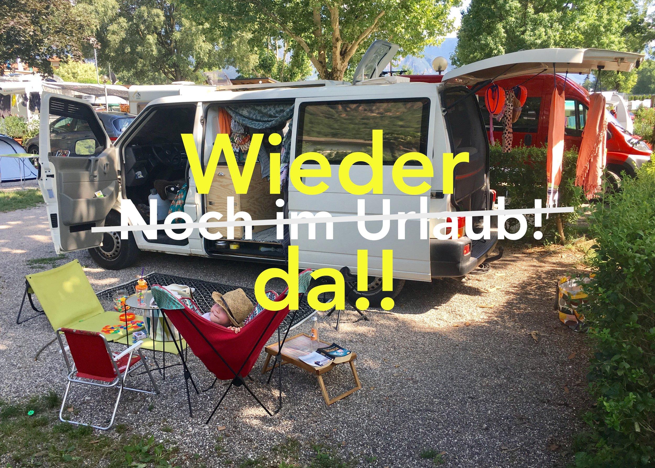 Schön war's...! - Camping Moosbauer  in Bozen, Südtirol