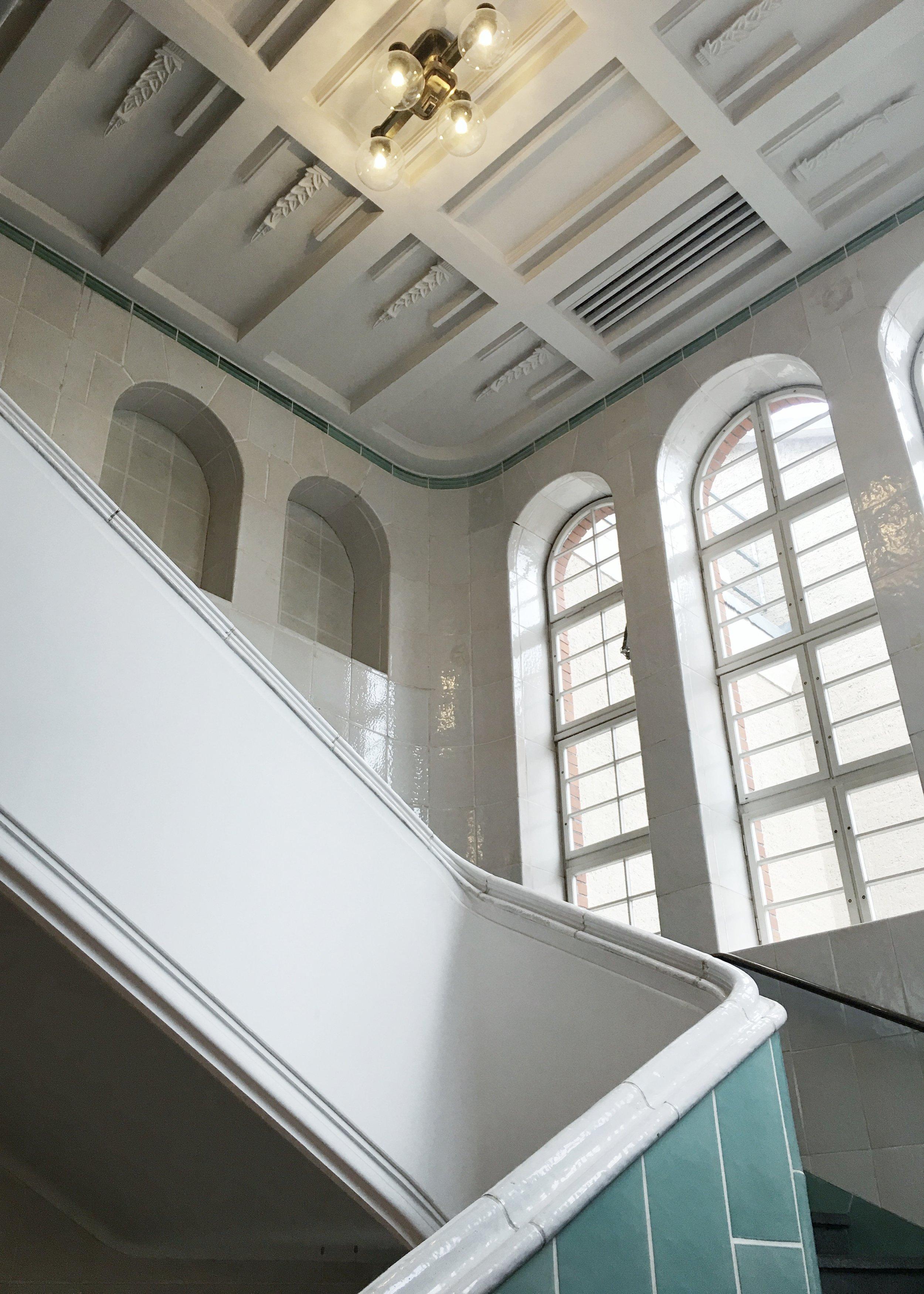 Blick im Treppenhaus