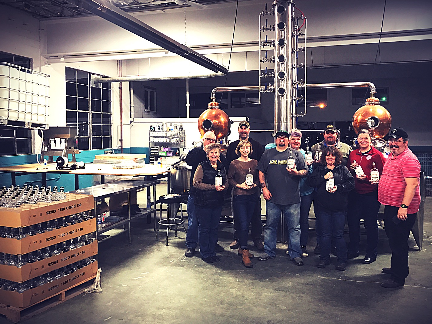 Third Batch of OUragon in bottles. Great crew!