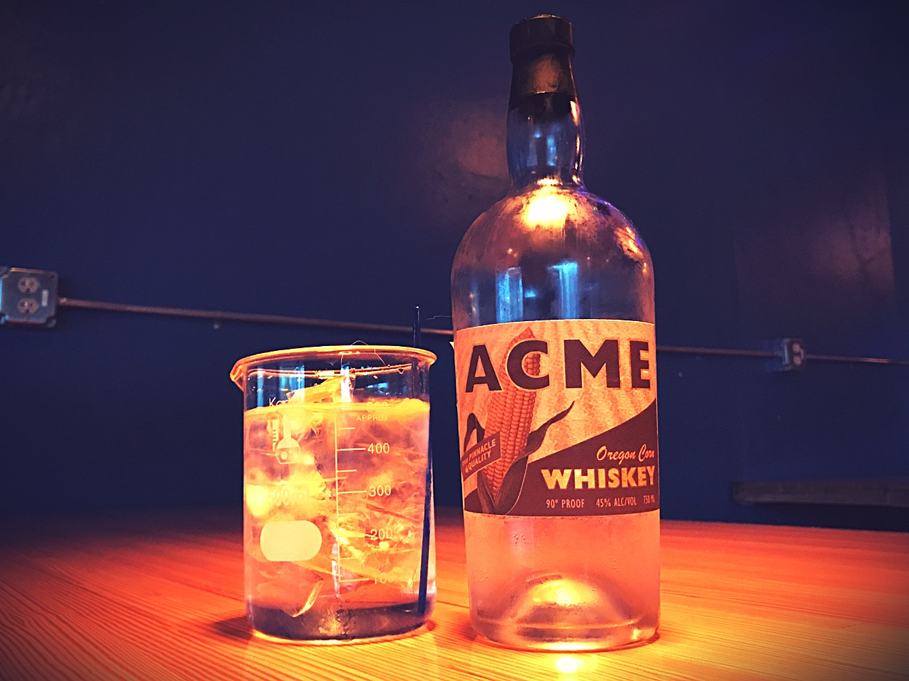 First Bottle of ACME WHiskey