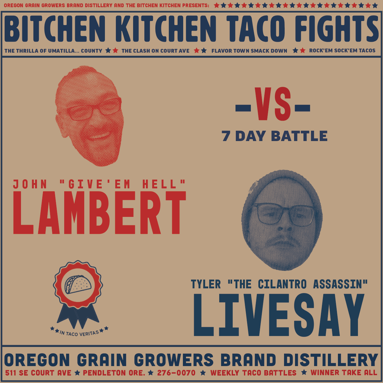 Taco Fights Round 1