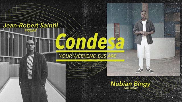 —-  Weekend DJs