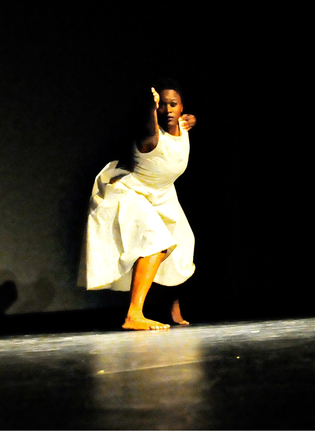 #TroubleFree (2012)  Dancers: Anika Marcelle Dance Show: COCO Dance Festival 2012 Photography: Karen Johnstone  Location: Little Carib Theatre, Port-of-Spain - Trinidad