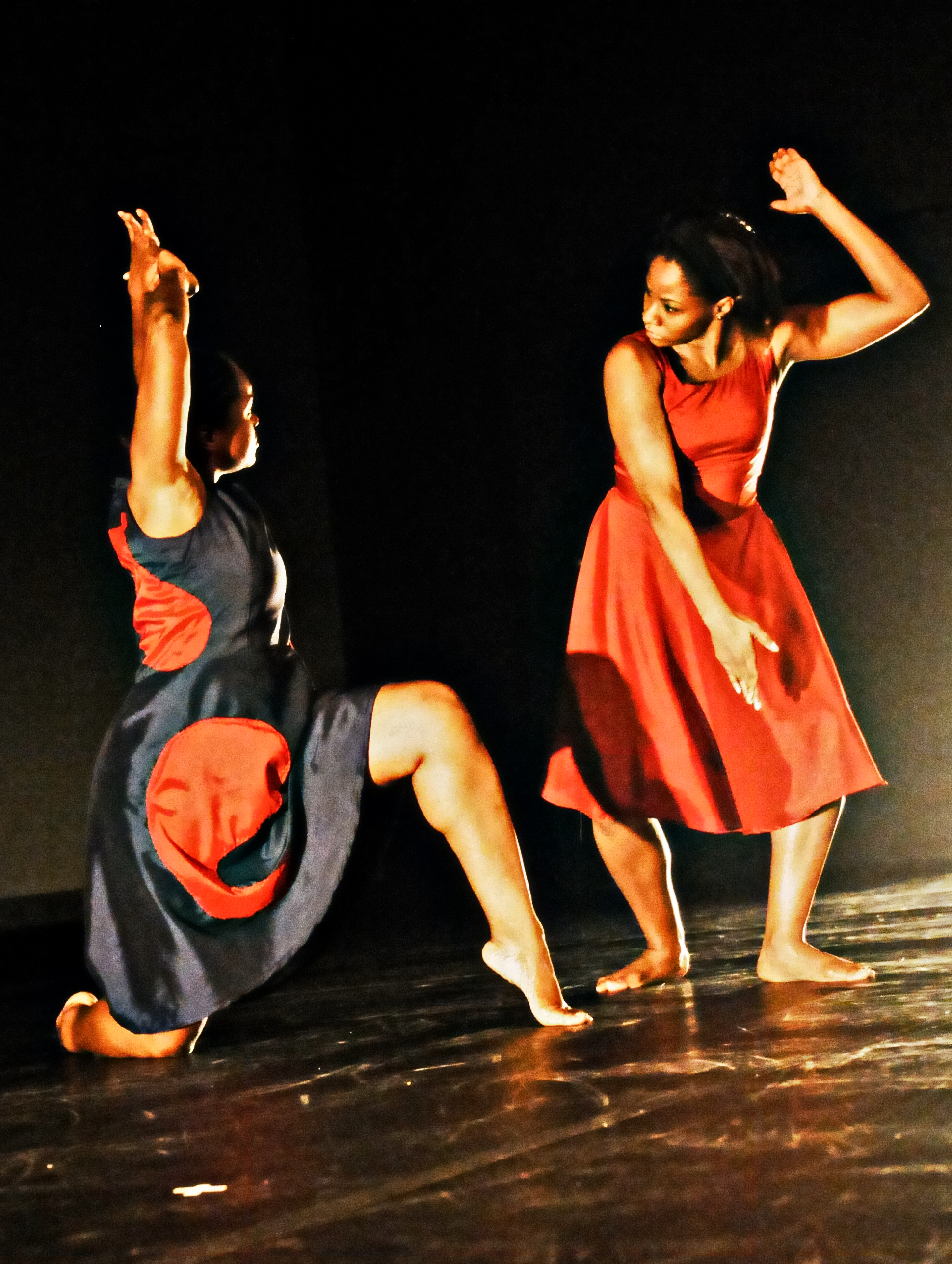 Fist (2011)  Dancers: Anika Marcelle and Aviance Bain Dance Show: COCO Dance Festival 2011 Photography: Karen Johnstone  Location: Little Carib Theatre, Port-of-Spain - Trinidad