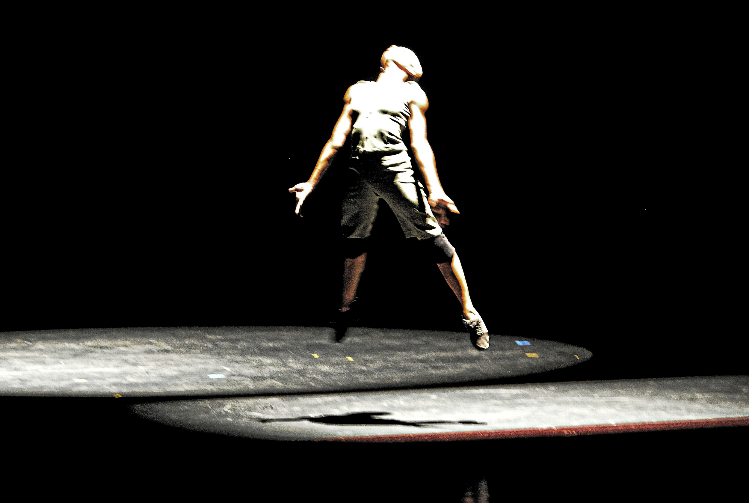 Flint (2011) -Dancer: LaShaun Prescott, Dance Comapny: Elle NYTT, Dance Show: Elle 7 Photography: Karen Johnstone, Location: National Academy of the Performing Arts, Port-of-Spain - Trinidad