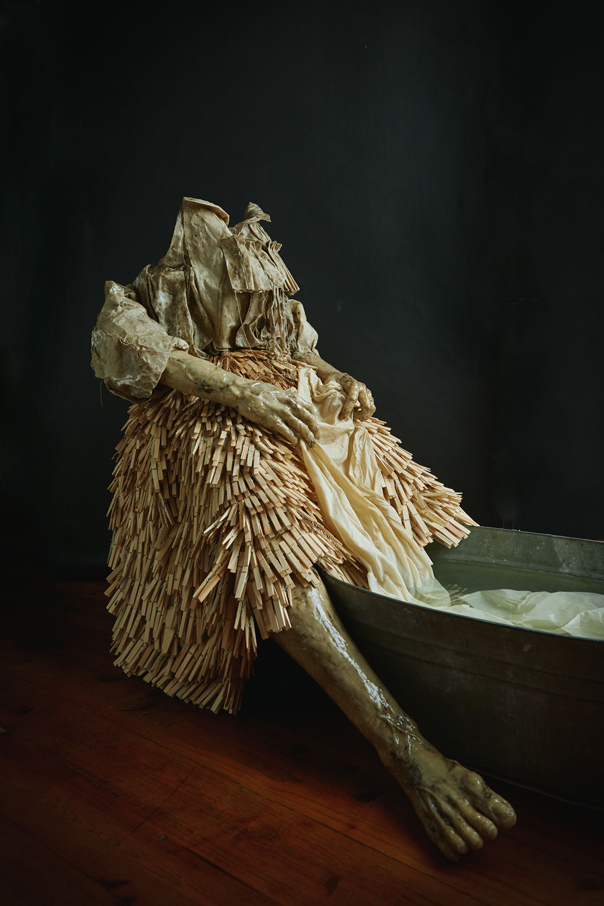 Washerwoman, 2018. | Photo by: Kibwe Brathwaite