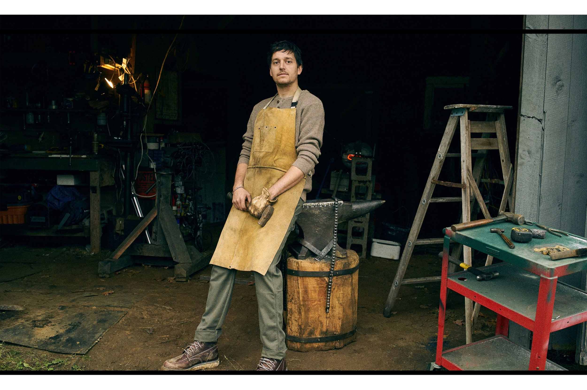 Ever Wonder what it's like to be a modern day blacksmith? Check out this feature from Brett Martin at Popular Mechanics from November 2017  here .