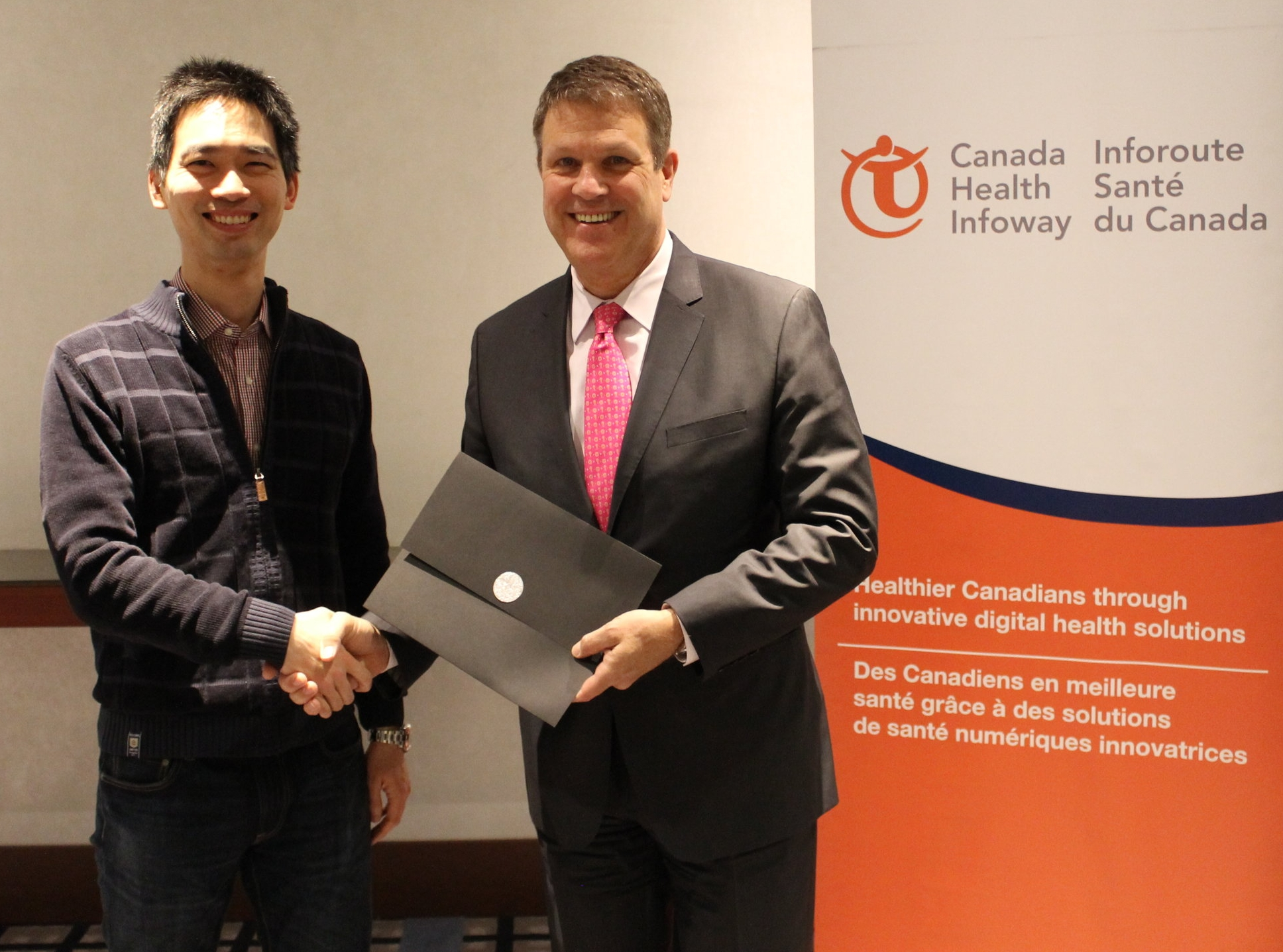 Marco Lo, Family Physician, Magenta Health with Michael Green, President and CEO, Canada Health Infoway