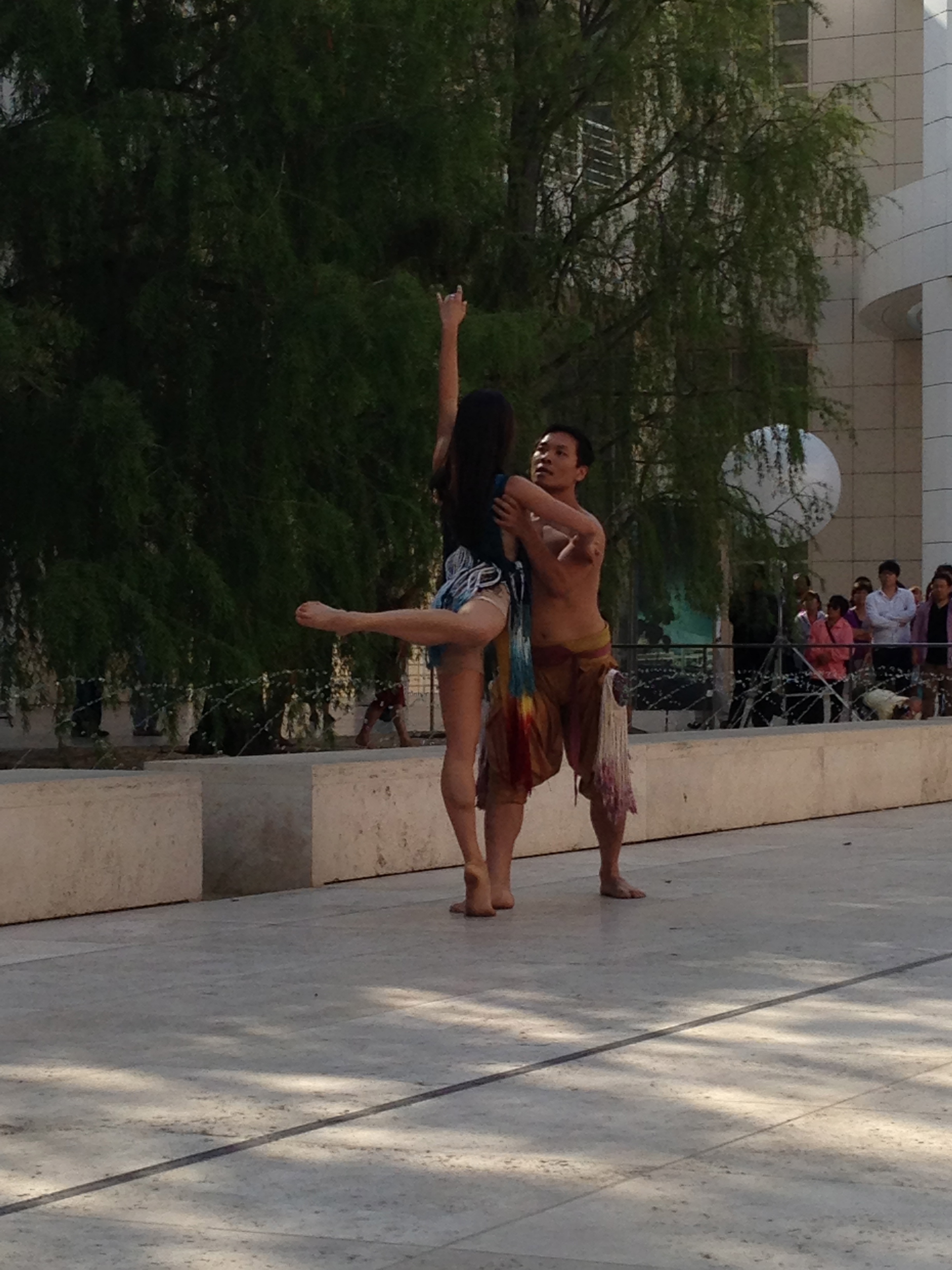"tiger lily - performed @ getty for dcw ""get wet"" series"