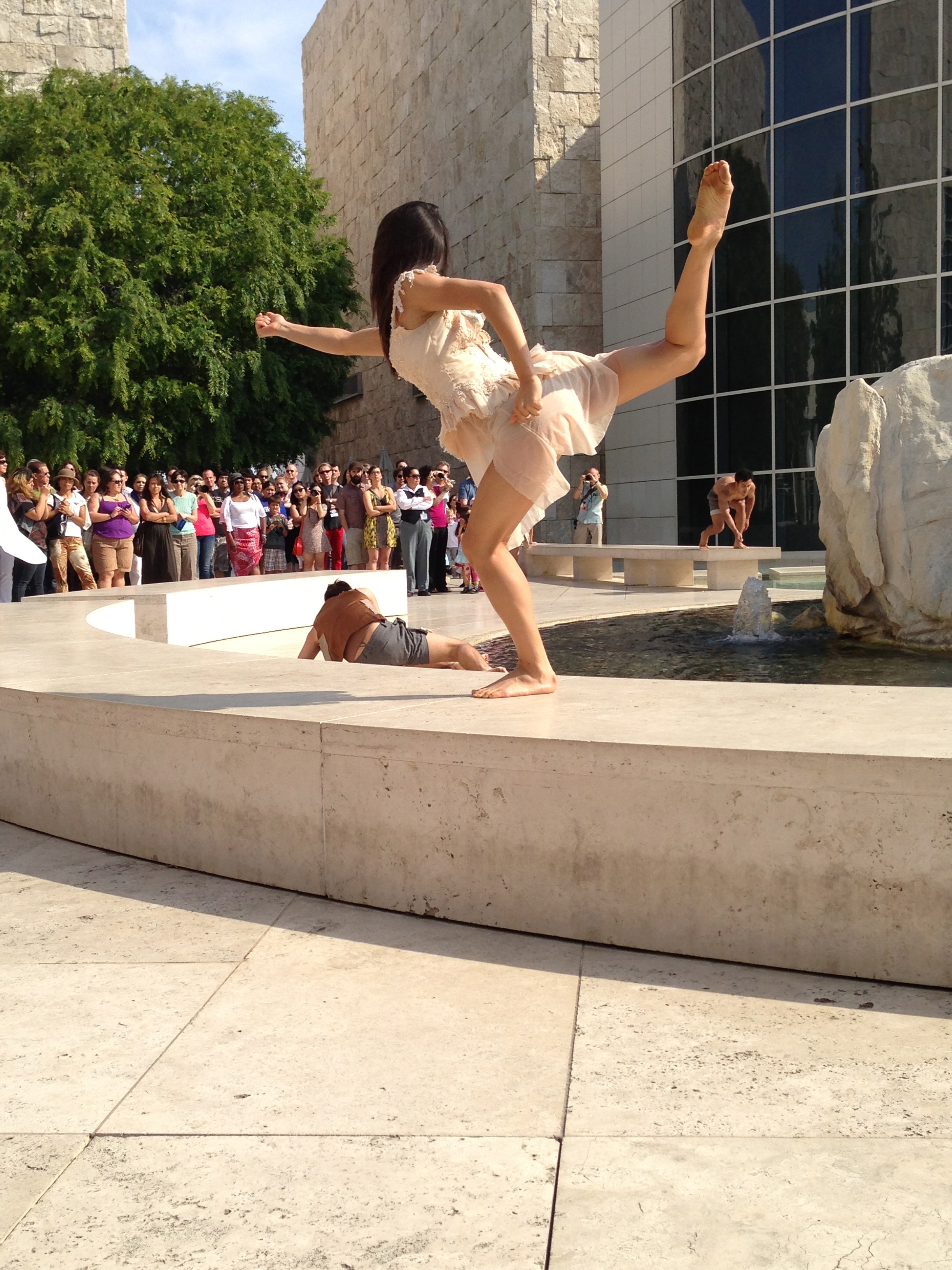 "'sunken' - performed @ getty for dcw ""get wet"" series"
