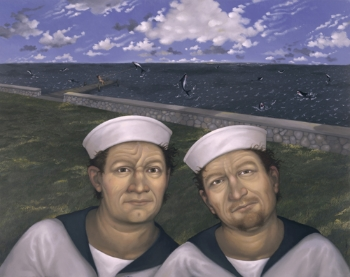 Snug Harbor, 500 wide 2011 oil on panel, 24 x 30 inches increase midtone.jpg