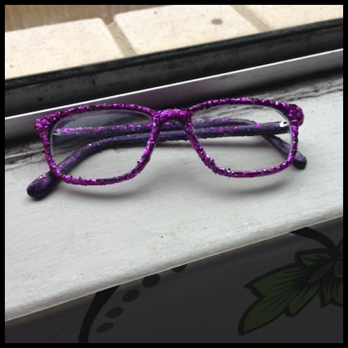 """Out """"bling""""ing Dame Edna. Kanen's specs: the final product"""