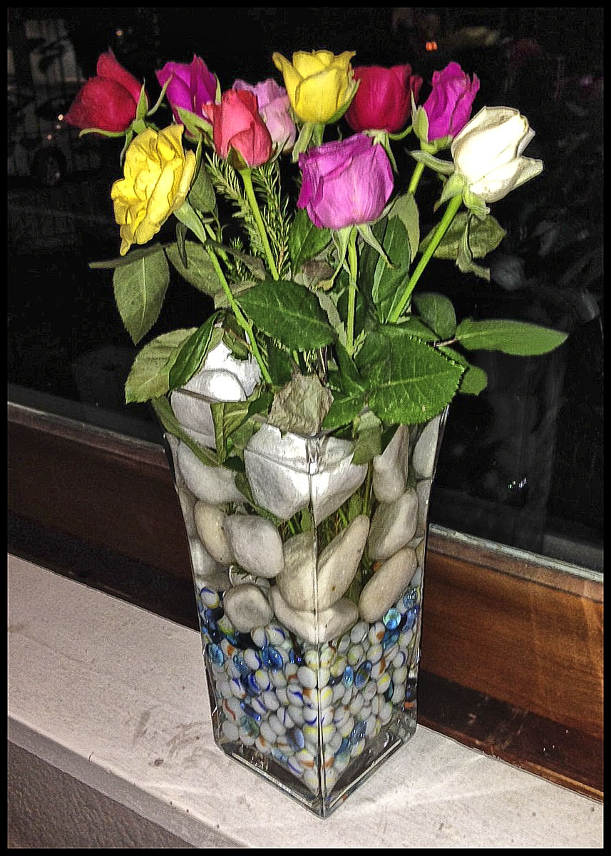 Kanen's flower arrangement