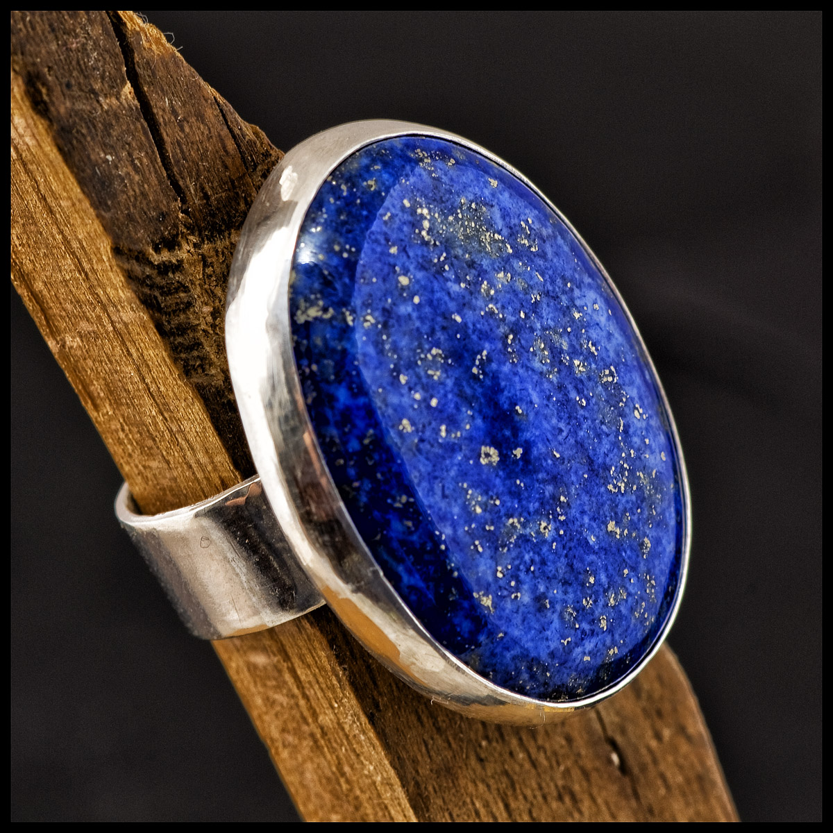 Scarlet's lapis lazuli and sterling silver ring