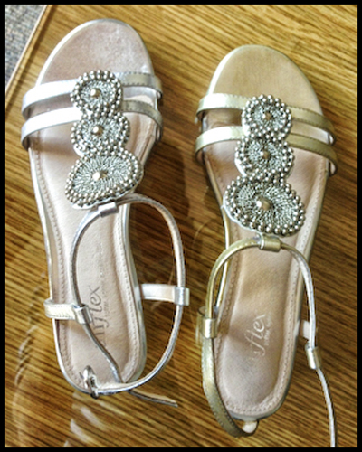 Kanen: Masked ball shoes - before
