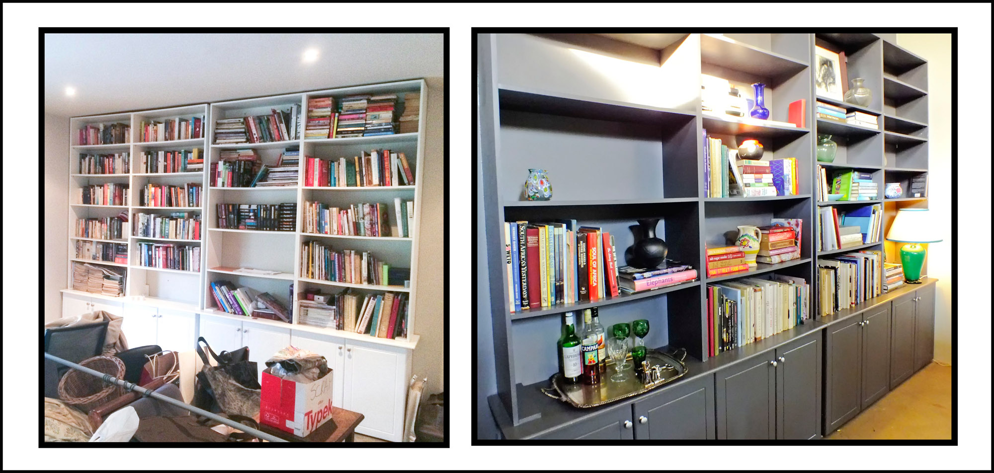 Bookcase renovation