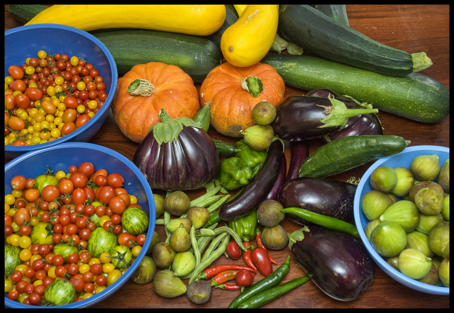 cooking with garden produce