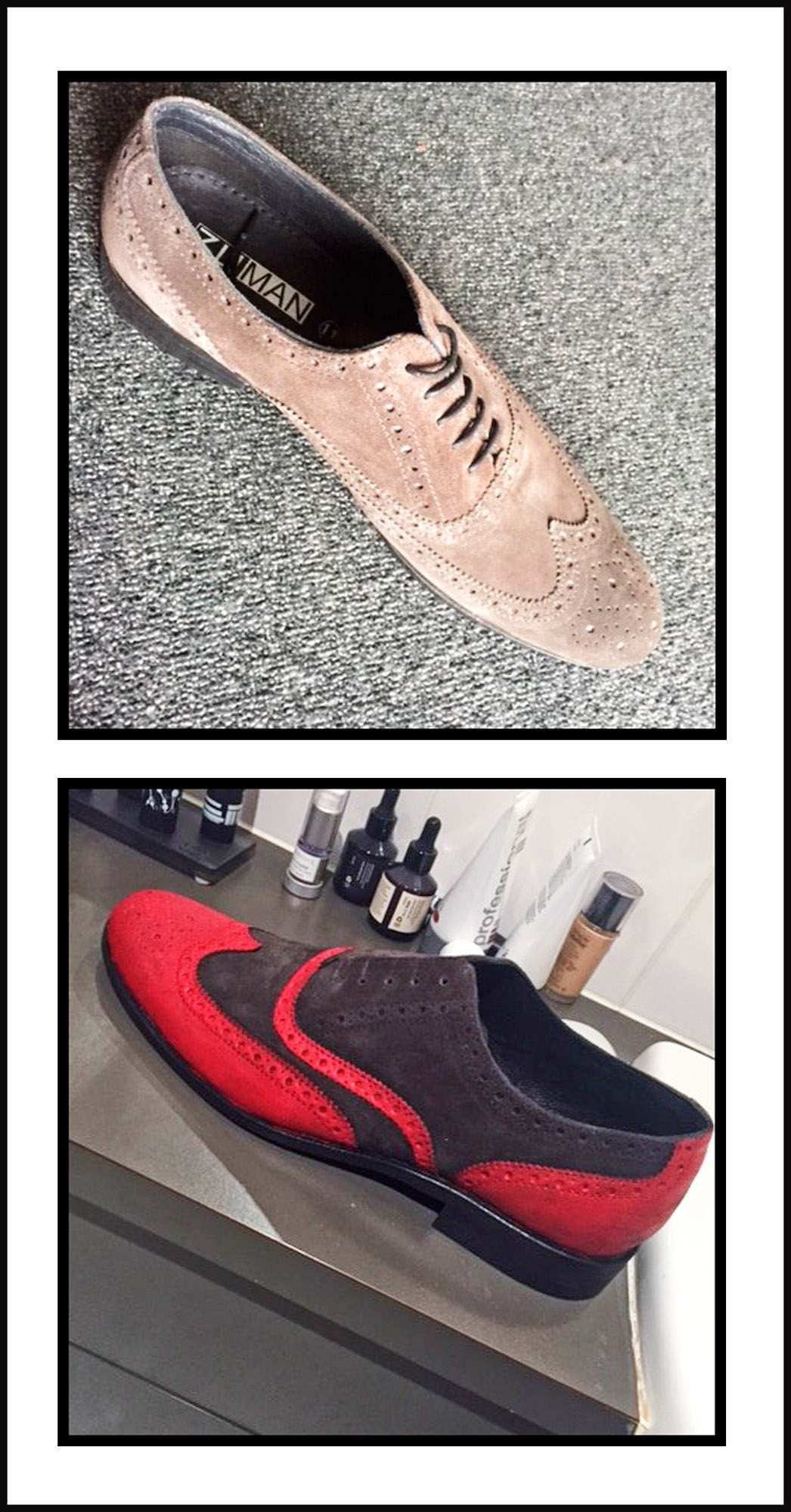 Kanens red shoe makeover