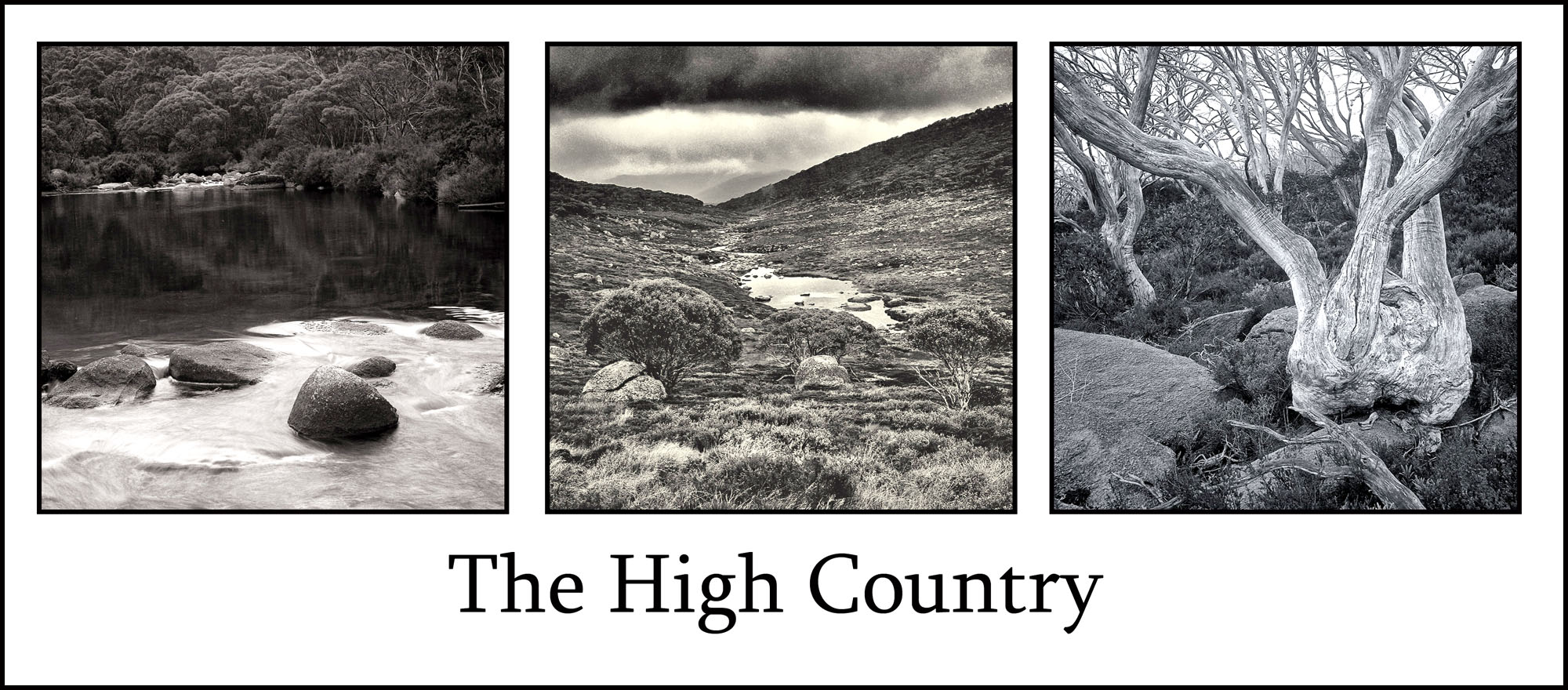 Steves high country triptych