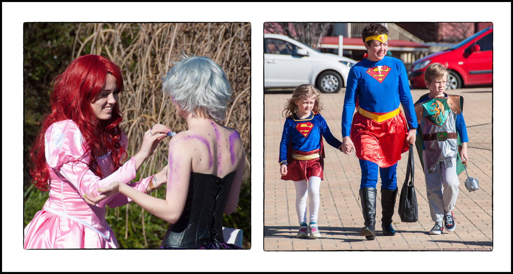 Super Hero Family Fun Day photos