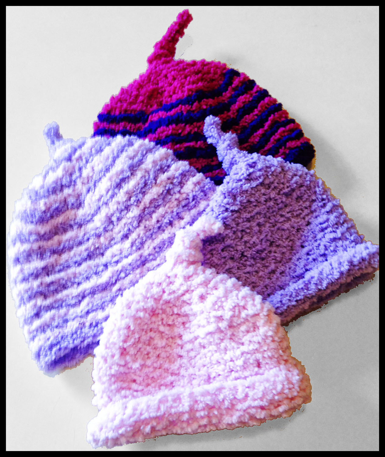 Telena's knitted hats